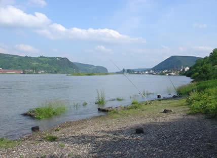 Angelgewässer in Deutschland - Flüsse