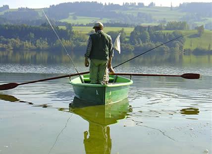 Angelgewässer in Deutschland - Seen