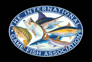 Logo IGFA International Game Fish Association - Angelweltrekorde - Rekordfische