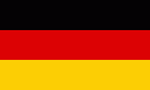 Flagge Deutschland - Germany - Allemagne