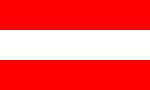 Flagge Österreich - Austria - Autriche