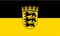 Landesfahne Bundesland - Baden-Württemberg