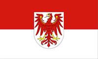 Flagge Bundesland Brandenburg