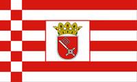 Flagge Bundesland Bremen