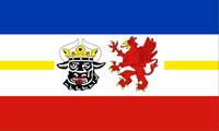Flagge Bundesland Mecklenburg-Vorpommern