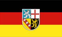 Flagge Bundesland Saarland