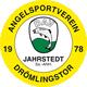 Vereinswappen Angelsportverein Drömlingstor 1978 Jahrstedt e.V.