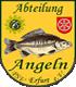Vereinswappen Polizeisportverband Erfurt - Abt. Thüringer Angelfreunde e.V.