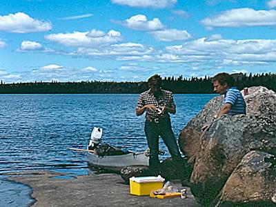 AiD Fotogalerie - Angeln in Kanada 1984 - Foto 71
