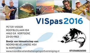 VISpas - Sportvisserij Nederland - Fischpass Sportfischerei in den Niederlanden