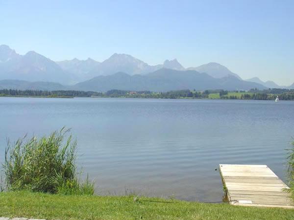 Hopfensee - Bayern - AiD Angelportal - Angelgewässer in Deutschland - Seen - Foto