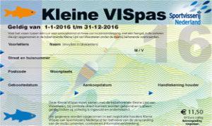 Kleine VISpas - Sportvisserij Nederland - Kleiner Fischpass Sportfischerei in den Niederlanden