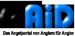 Logo AiD Angelportal - freistehend schwarz - 250 x 120