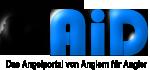 Logo AiD Angelportal - freistehend schwarz - 150 x 70