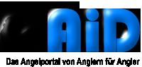 Logo AiD Angelportal - freistehend schwarz - 200 x 95