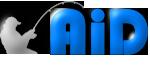 Logo AiD Angelportal - freistehend weiss - 150 x 70