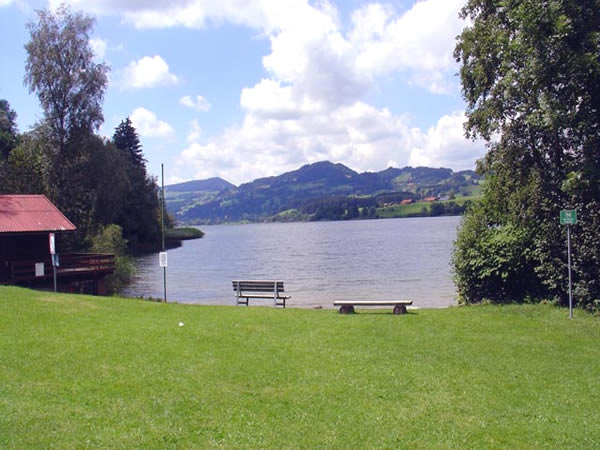 Niedersonthofener See - Bayern - AiD Angelportal - Angelgewässer in Deutschland - Seen - Foto