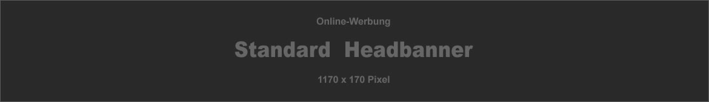 Standard Headbanner - Online-Werbung