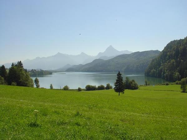 Weissensee - Bayern - AiD Angelportal - Angelgewässer in Deutschland - Seen - Foto