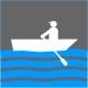 Icon Piktogramm - Bootsvermietung Ruderboote