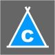 Icon Piktogramm - Campingplätze Fläche