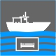 Icon Piktogramm - Übernachtung an Bord