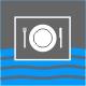 Icon Piktogramm - Verpflegung an Bord