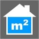 Icon Piktogramm - Wohnfläche