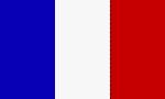Flagge Landesfahne Frankreich