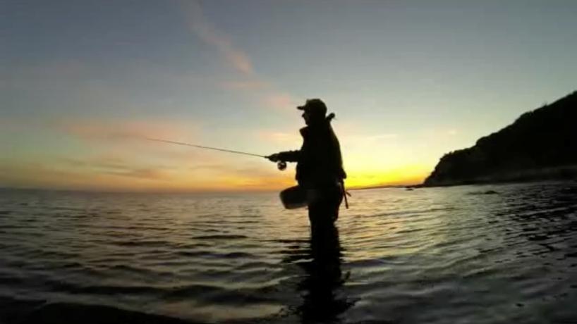 Video - AiD Angelportal - Deutschland - Ostsee - Impressionen Fliegenfischen - Meerforellen