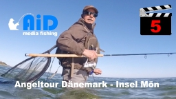 AiD media fishing - Videofilm Nr. 5 - Angeltour Dänemark - Insel Mön