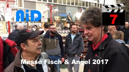 AiD media fishing - Videofilm Nr. 7 - Messe Fisch und Angel 2017