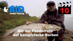 AiD media fishing - Videofilm Nr. 10 - Mit der Feederrute auf kampfstarke Barben 2017