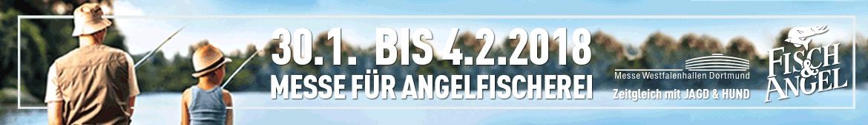 Fisch & Angel 2018 - Die Messe für Angelfischerei in Dortmind