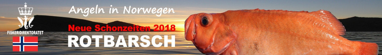 Angeln in Norwegen - Neue Schonzeiten 2018 - Rotbarsch