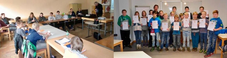 Vorbereitungslehrgänge zur Fischerprüfung - Lehrgangsteilnehmer