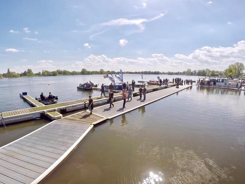 Angelboote - Fishing Masters Show 2018 - Beetzsee - Brandenburg an der Havel - Deutschland