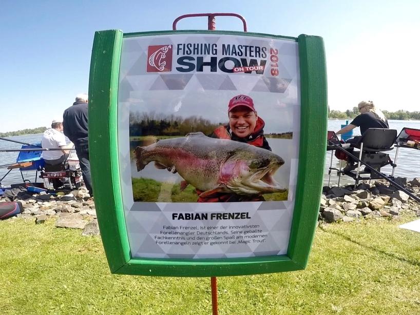 Angelprofi Fabian Frenzel - Fishing Masters Show 2018 - Beetzsee - Brandenburg an der Havel - Deutschland
