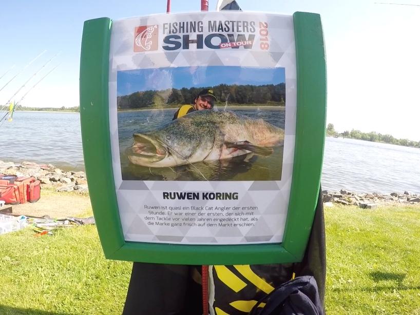 Angelprofi Ruwen Koring - Fishing Masters Show 2018 - Beetzsee - Brandenburg an der Havel - Deutschland