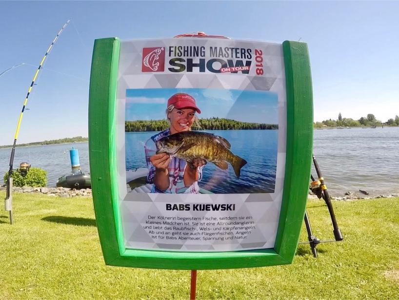 Angelprofi Babs Kijewski - Fishing Masters Show 2018 - Beetzsee - Brandenburg an der Havel - Deutschland