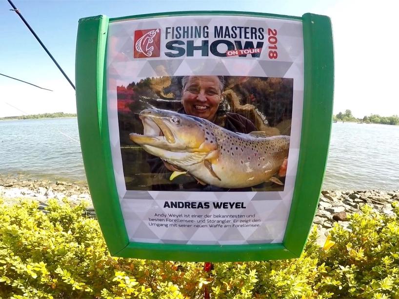 Angelprofi Andreas Weyel - Fishing Masters Show 2018 - Beetzsee - Brandenburg an der Havel - Deutschland