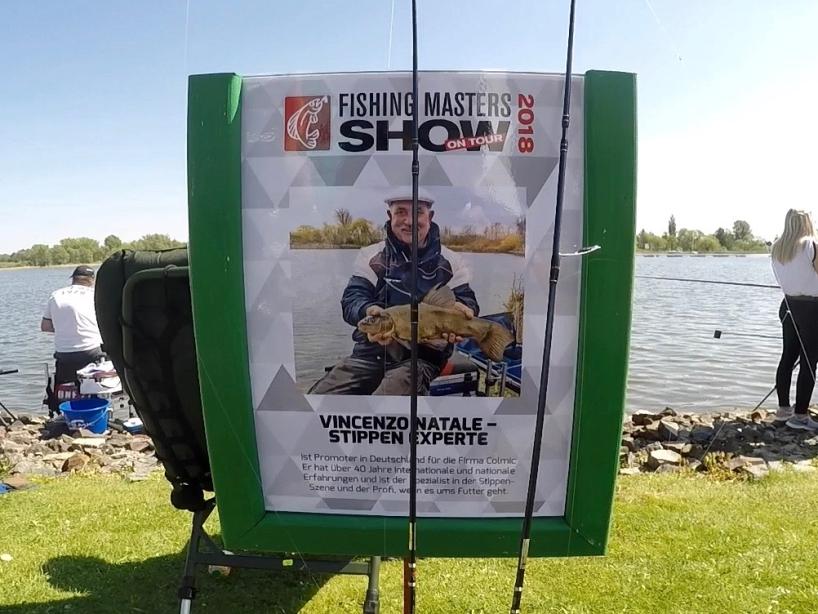 Angelprofi Vincenzo Natale - Fishing Masters Show 2018 - Beetzsee - Brandenburg an der Havel - Deutschland