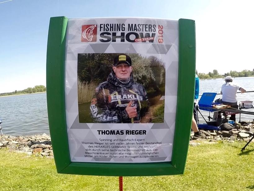 Angelprofi Thomas Rieger - Fishing Masters Show 2018 - Beetzsee - Brandenburg an der Havel - Deutschland