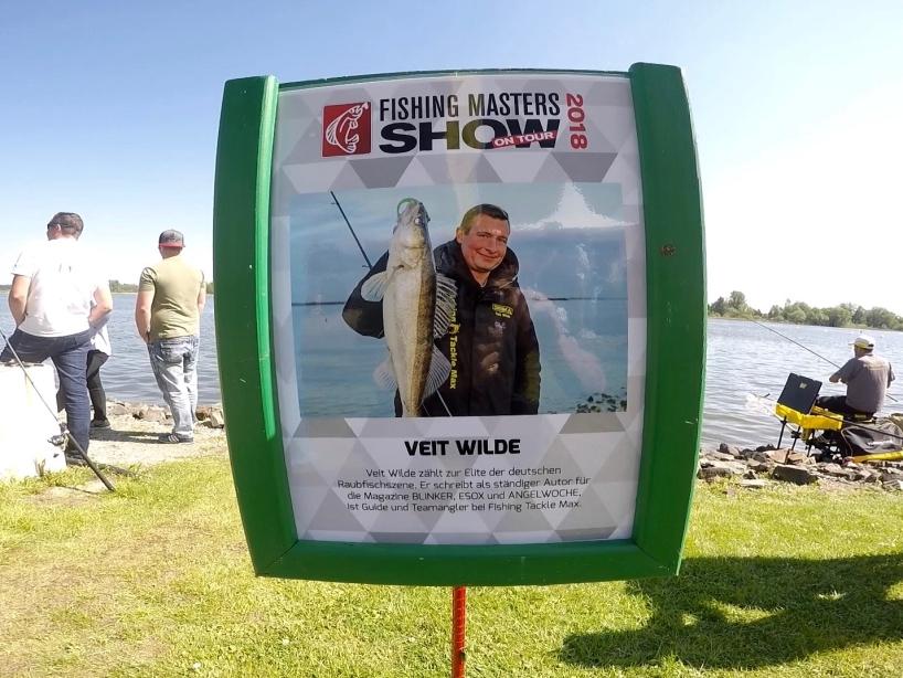 Angelprofi Veit Wilde - Fishing Masters Show 2018 - Beetzsee - Brandenburg an der Havel - Deutschland