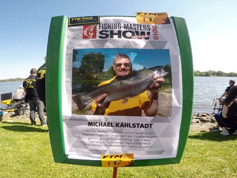 Angelprofi Michael Kahlstadt - Fishing Masters Show 2018 - Beetzsee - Brandenburg an der Havel - Deutschland