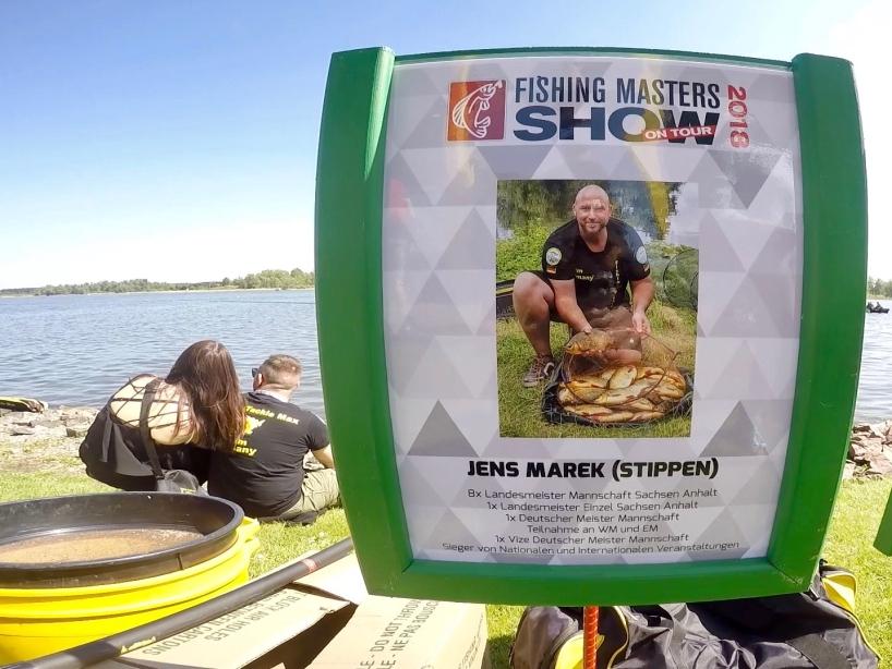 Angelprofi Jens Marek - Fishing Masters Show 2018 - Beetzsee - Brandenburg an der Havel - Deutschland