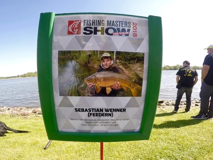 Angelprofi Sebastian Wenner - Fishing Masters Show 2018 - Beetzsee - Brandenburg an der Havel - Deutschland