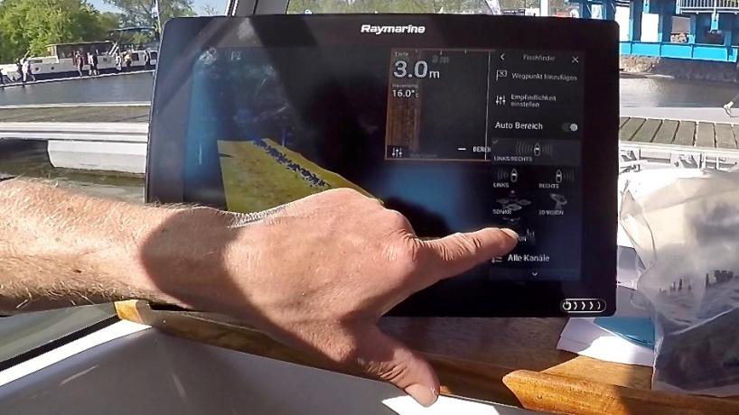 AiD Videothek - Titelbild Raymarine Echolot - Hero Vision 3D Geber