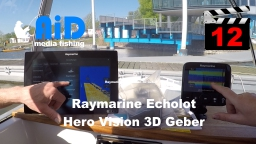 AiD media fishing - Videofilm 12 - Echolot Raymarine - Hero Vision 3D Geber