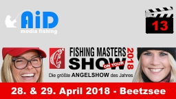 AiD media fishing - Videofilm 13 - Fishing Masters Show 2018 - Beetzsee Brandenburg